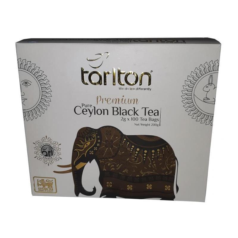 Чай SebasTea Indian Elephant черный листовой 100г