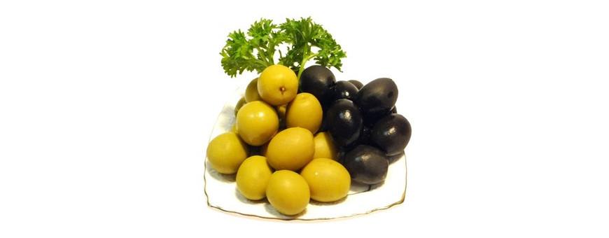 Консервированные оливки и маслины, вяленые, сушеные с доставкой