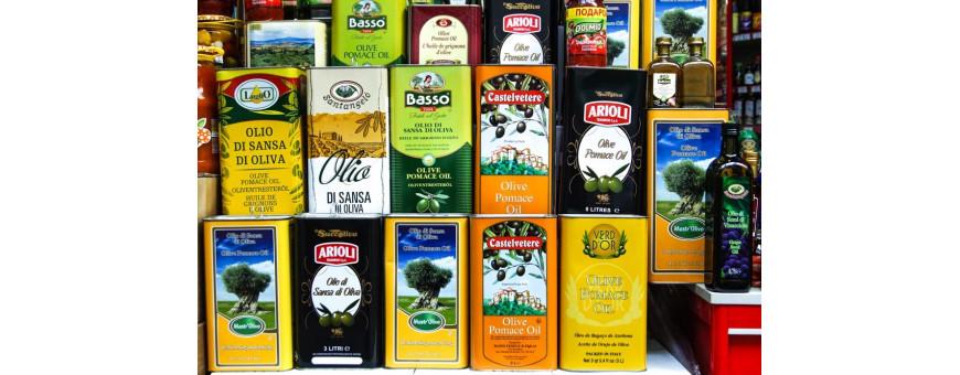 Купить оливковое масло в канистрах в интернет-магазине в Москве